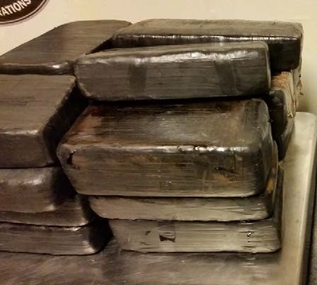 41 pounds of methamphetamine allegedly found in smuggling attempt. (Photo: U.S. Customs and Border Protection)