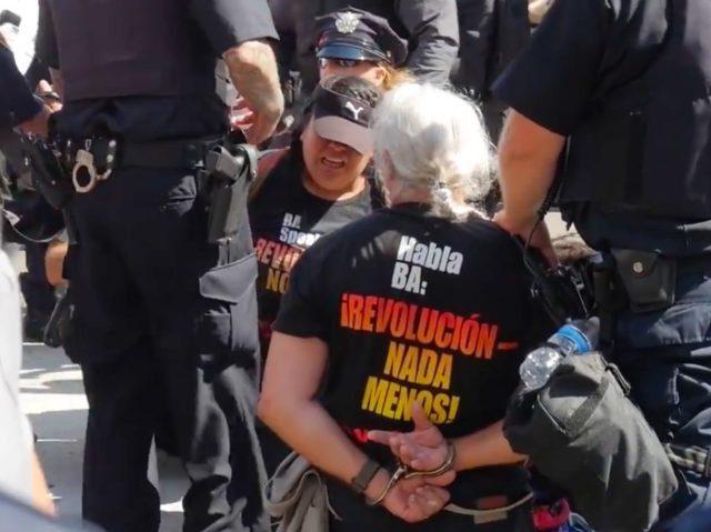 Protest RNC (Lee Stranahan / Breitbart News)