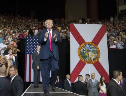 Trump's Jacksonville Rally Draws 15,000