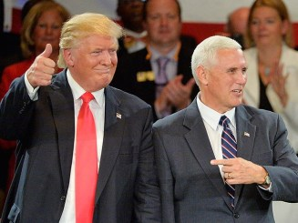 Image result for pence trump