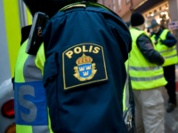 Swedish police volunteers patrol on December 13, 2010 at the corner of Bryggaregatan and Drottninggatan street in central Stockholm, where an apparent car bomb and a separate blast targeted Christmas shoppers two days ago. Sweden's chief prosecutor said today investigators were almost certain the author of the failed suicide attack was Swedish citizen Taymour Abdel Wahab. AFP PHOTO / JONATHAN NACKSTRAND (Photo credit should read JONATHAN NACKSTRAND/AFP/Getty Images)