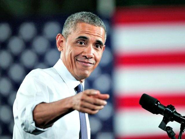 Obama Thanks Obama AP