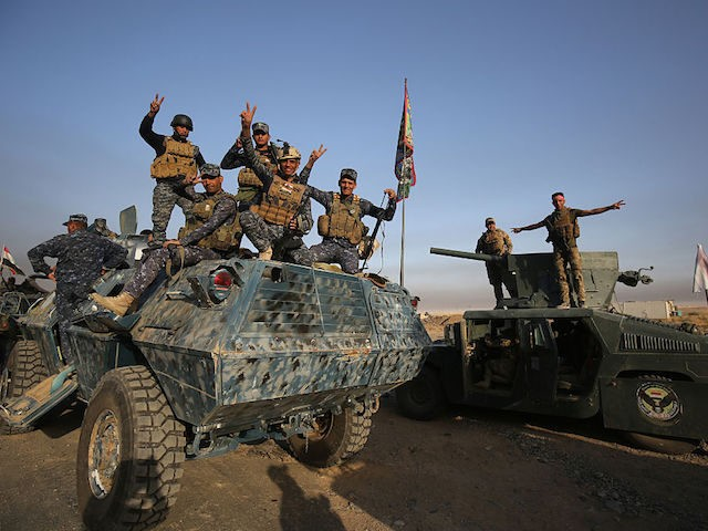 Politician Direct GettyImages-615126554-640x480 Iraqi Official Shrugs Off Abuse Claims Against Islamic State in Mosul: 'This Is War' Breitbart Politics  United Nations National Security Mosul Jihad isis iraq Human rights Breitbart Jerusalem