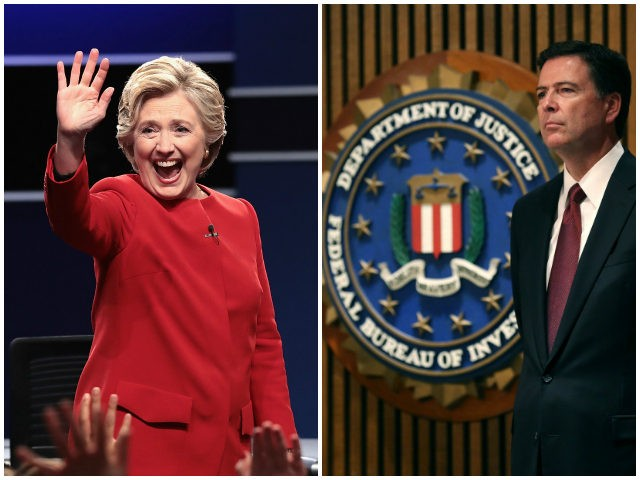 Image result for comey hillary investigation