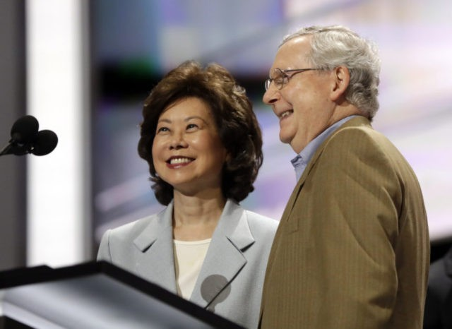 Mitch McConnell, Elaine Chao