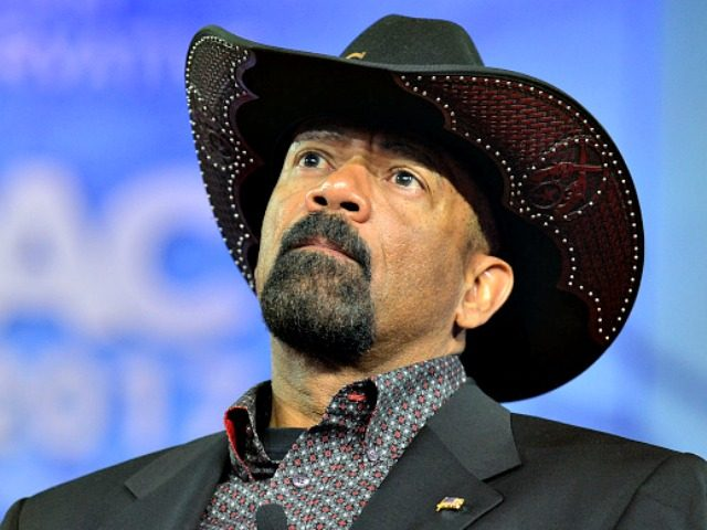 Sheriff Clarke cpac-AFP