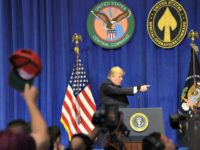 Trump Speaks at McDill AP