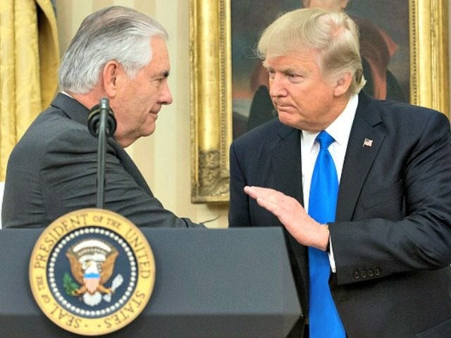 Image result for photos of rex tillerson and trump