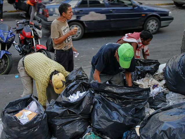 Image result for children eat garbage venezuela