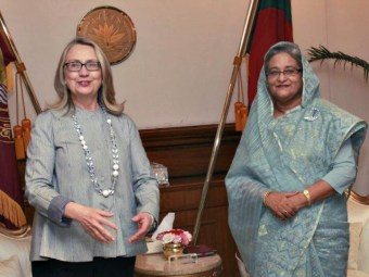 Bangladesh PM: Clinton 'Personally Pressured' Her to Aid Foundation Donor Despite Ethics Laws | Breitbart