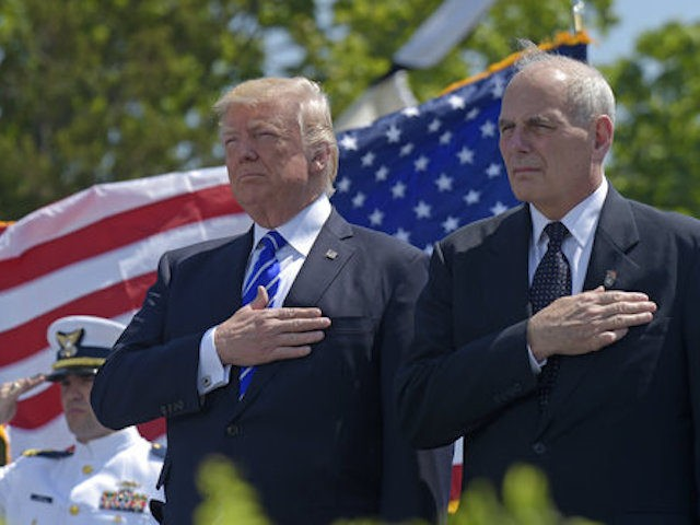 Image result for photo of president and general kelly