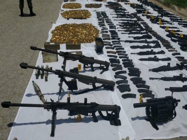 Los Zetas Tenían Cohetes y Artillería de Guerra en Ciudad Fronteriza