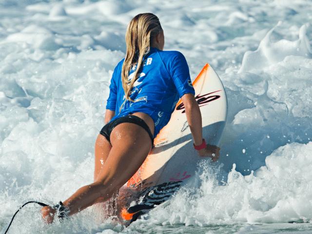 Surfer Girl Bali Wallpaper Butt Out World Surf League Wants Less Focus On Female