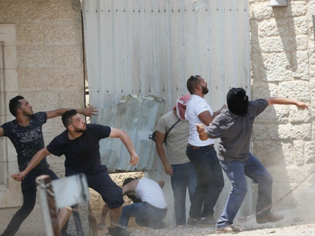 west bank riot temple mount