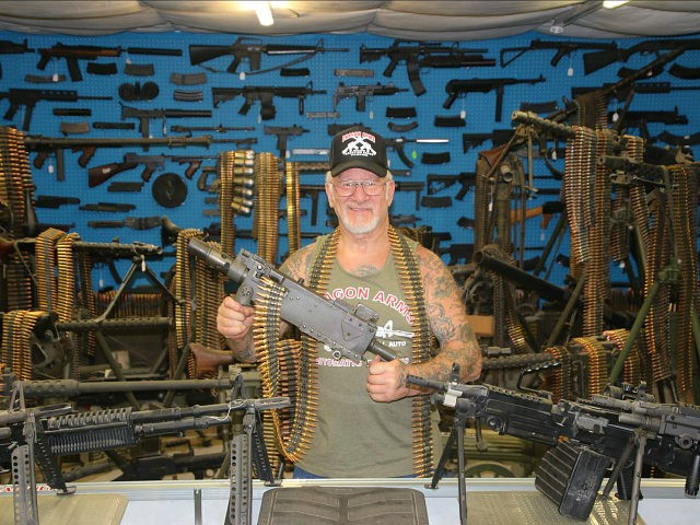 Thieves Stole 65 Guns While Most Armed Man in America