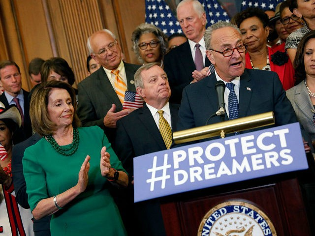 Image result for images of chuck schumer and illegal aliens