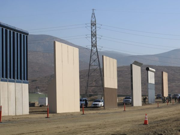 Border Wall Prototypes Face Testing Future Funding Questions