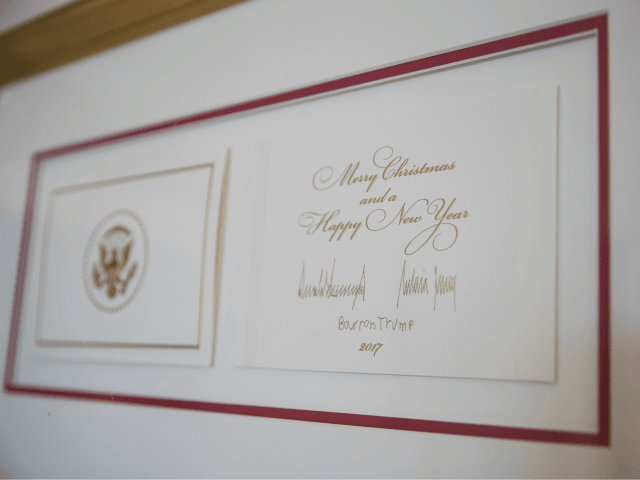 Trump Family Christmas Card Wishes Families Merry