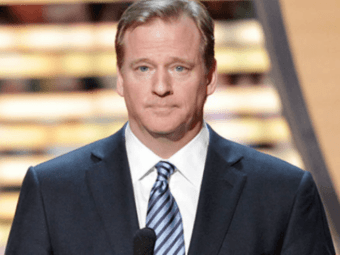 NFL Commish Goodell Defends the $90 Million Fund for 'Social Justice' Causes
