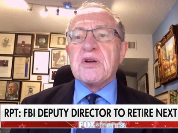 Image result for Dershowitz: McCabe Should Have Recused Himself Immediately from Any Investigation Involving Hillary Clinton