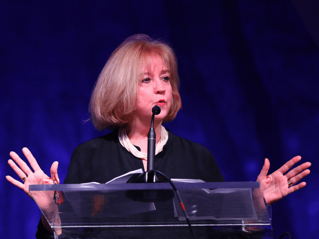 ST LOUIS, MO - OCTOBER 21: St. Louis city Mayor Lyda Krewson speaks at the Concordance Academy Gala at Ritz Carlton St. Louis on October 21, 2017 in St Louis, Missouri. (Photo by Dilip Vishwanat/Getty Images for Concordance Academy of Leadership)