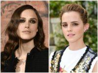Keira Knightley Emma Watson BAFTA Getty