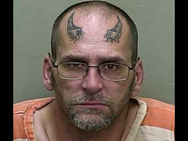 Florida Man with Devil Horns Tattoo Arrested for Alleged