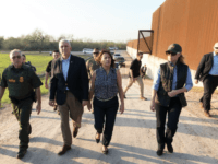 Vice President Mike Pence renewed the call to build a border wall after touring the U.S. southern border in Texas and meeting with border patrol and customs officials.