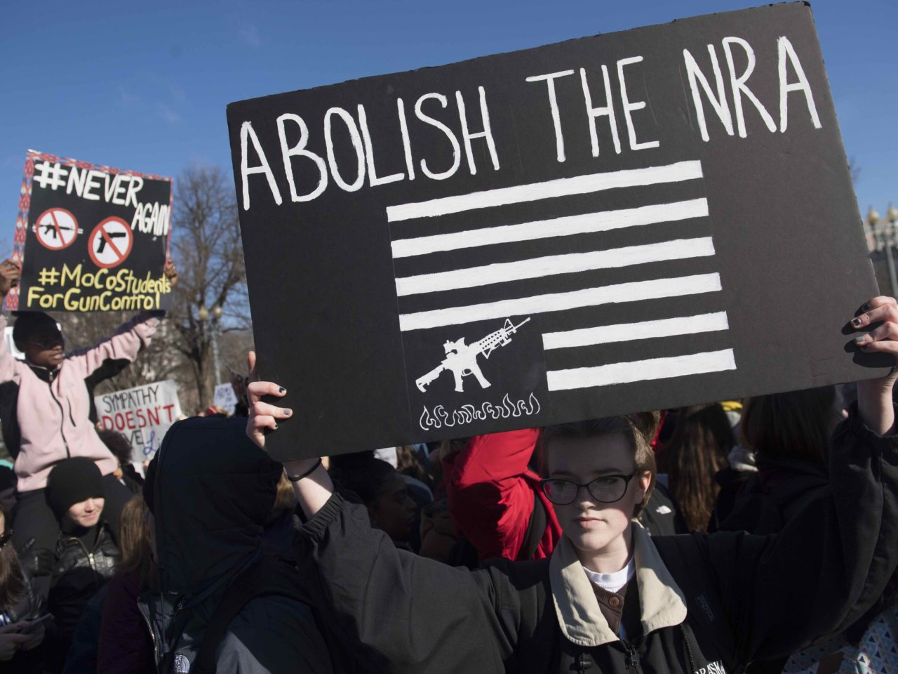 Abolish the NRA (Saul Loeb / AFP / Getty)