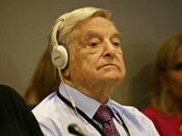 NEW YORK, NY - SEPTEMBER 20: (AFP OUT) Investor George Soros attends a Private Sector CEO Roundtable Summit for Refugees during the United Nations 71st session of the General Debate at the United Nations General Assembly on September 20, 2016 at the UN headquarters in New York, New York. The general debate of the 71st session will conclude on September 26. (Photo by Peter Foley - Pool/Getty Images)