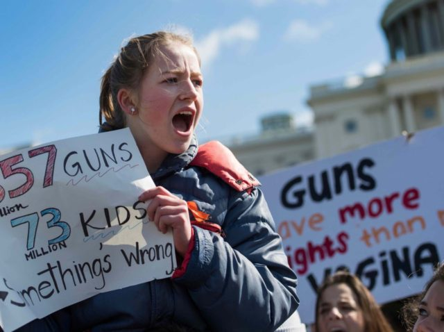 Student Walkout (Jim Watson / AFP / Getty)