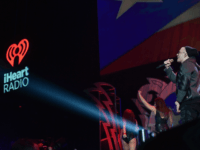 Yandel performs at an iHeartRadio concert for iHeartMedia