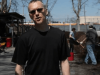The body of lawyer and environmental activist David Buckel was found in Prospect Park New York burnt to death. Picture: YouTube