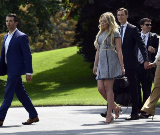President Donald Trump Left Washington Dc On Friday Afternoon For A Weekend At The Presidential Retreat At Camp David