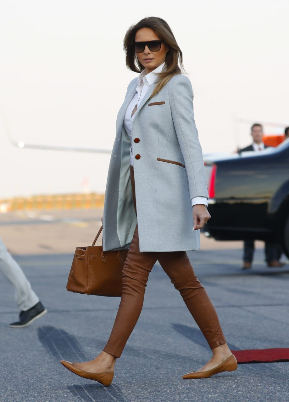 Fashion Notes Melania Trump Stuns In Finland Wearing Ice