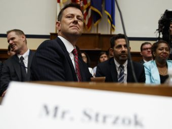Peter Strzok: FBI Let Me Decide Which Texts I Thought Were 'Relevant' to Hand Over to IG | Breitbart