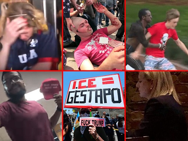 Rap Sheet: ***70*** Acts of Media-Approved Violence and Harassment Against Trump Supporters | Breitbart