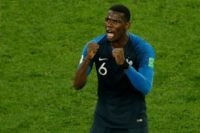 Midfielder Paul Pogba dedicated France's win over Belgium to the Thai cave boys