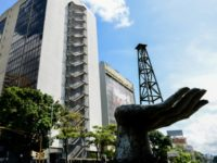 The headquarters of PDVSA, Venezuela's state oil giant, in Caracas