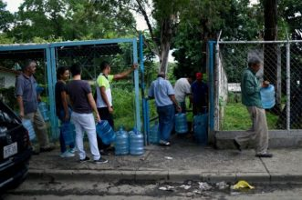 Venezuela's economic crisis has left residents in San Juan with a chronic water shortage