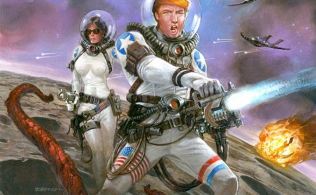 Delingpole Trump S Space Force Bigliest Adventure In