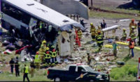 At least 4 killed in head-on bus crash in New Mexico