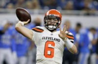 Mayfield sharp as Browns roll over Lions 35-17