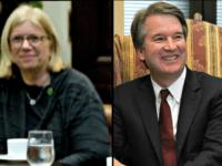 Top Operária Democrata contratada para assessorar a acusadora Kavanaugh Christine Blasey Ford