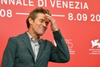 "Actor Willem Dafoe who plays Vincent Van Gogh in ""At Eternity's Gate"" looked uncannily like the artist in the film, and is already tipped for the best actor prize at the Venice film festival."
