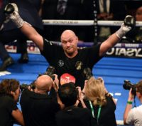 Britain's Tyson Fury is poised to fight WBC champion Deontay Wilder on December 1