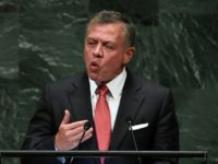 Jordan's King Abdullah II makes a plea for aid for Palestinian refugees in a speech at the UN General Assembly