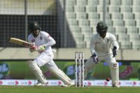 Bangladeshi cricketer Mushfiqur Rahim (L) became the first wicketkeeper-batsman in history to score two double hundreds