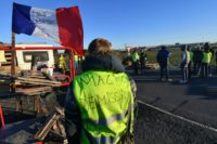 """Support for the """"yellow vest"""" protests has dropped sharply after French President Emmanuel Macron unveiled a series of measures to ease taxes and boost incomes, according to opinion polls"""