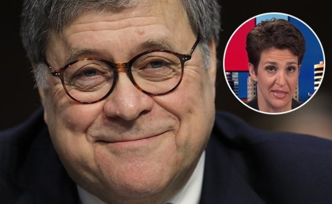 Ag Bill Barr To Release Redacted Version Of Mueller Report